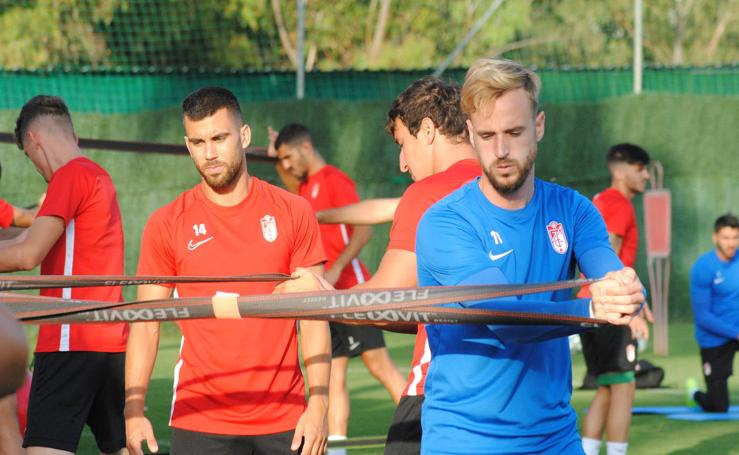 Sesión física en el Marbella Football Center