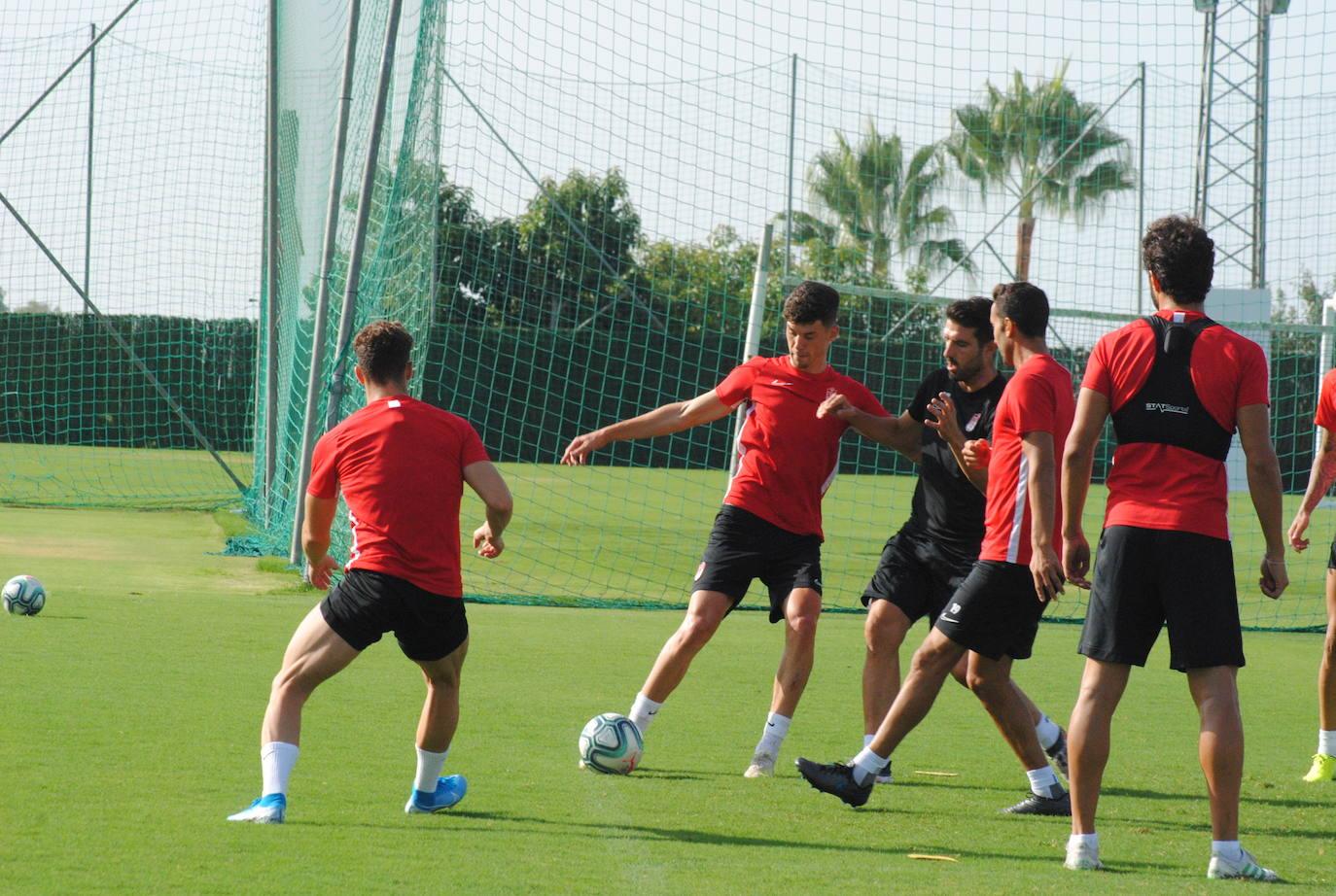 Así ha sido el penúltimo entrenamiento del Granada en Marbella
