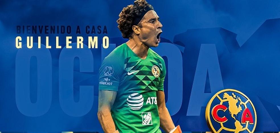 Memo Ochoa regresa al América