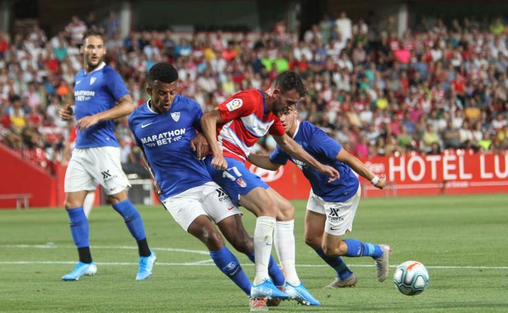 Las mejores jugadas del Granada CF - Sevilla