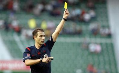 Cordero Vega arbitrará ante el Villarreal