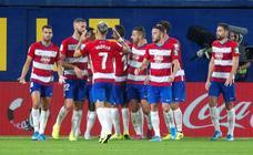 Las mejores imágenes del empate del Granada CF en Villarreal