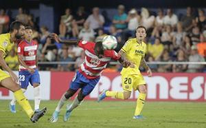 Una borrachera de gol para debutar en Primera
