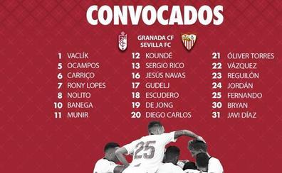 Banega se une a la convocatoria del Sevilla para jugar en Granada