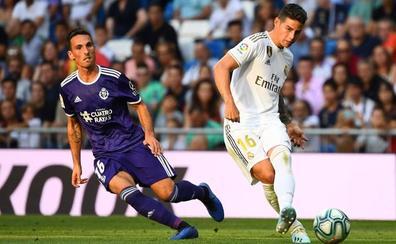 Fede San Emeterio, titular en el Bernabéu con el Valladolid