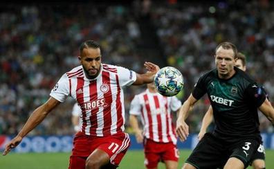 El Arabi, vital en la clasificación del Olympiakos a la 'Champions'