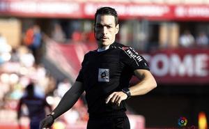 Prieto Iglesias arbitrará el domingo en Balaídos