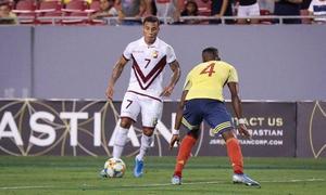 Herrera y Machís participan en el empate de Venezuela con Colombia