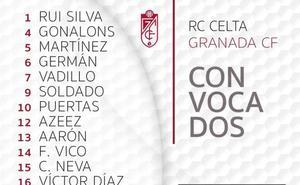 Diego Martínez se lleva a 19 jugadores a Vigo, incluido Gonalons
