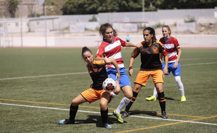 Así ha sido el partido del Granada Femenino contra Valencia