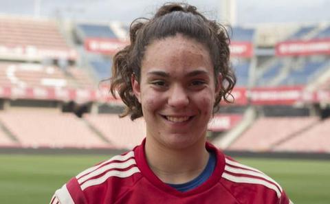 María Valenzuela vuelve a ser convocada con la sub-19