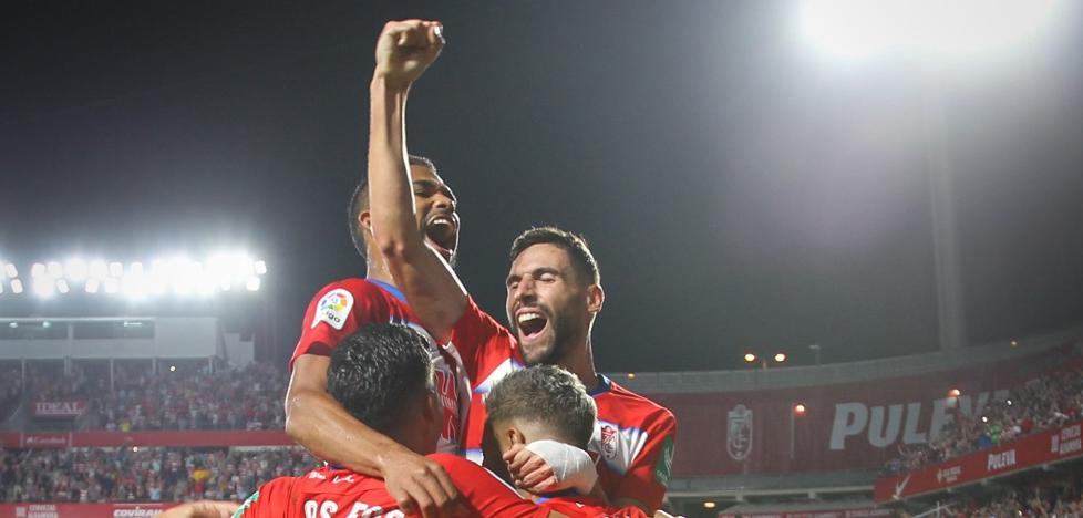 El Granada gana al Barcelona y se coloca líder de Primera