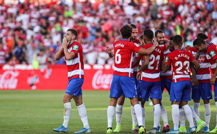 Las mejores jugadas del Granada CF - Leganés