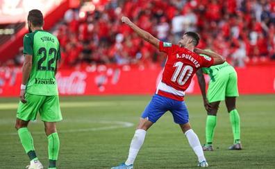 El Granada vence al Leganés gracias a un gol de Puertas