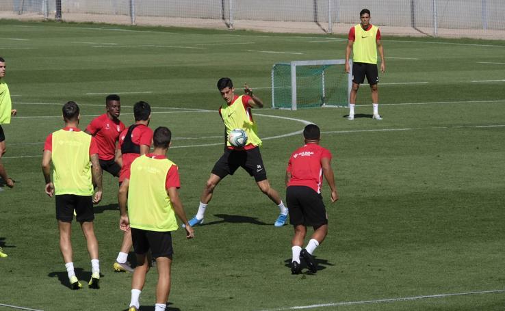 Así ha sido el entrenamiento de este martes para preparar el duelo contra el Real Madrid