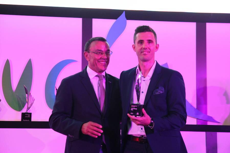 El palista accitano José Manuel Ruiz recibe una mención especial de los Premios Andalucía de los Deportes