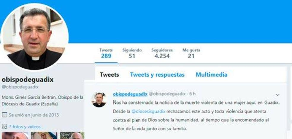 El Obispo Mons. Ginés García, consternado, condena la muerte de una mujer en Guadix