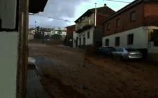 Inundaciones en Alcudia de Guadix por las últimas precipitaciones