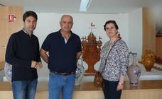 Jesús Herrera expone en la Oficina de Turismo