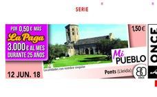 La ONCE reparte 350.000 euros entre diez vecinos de Benalúa de Guadix