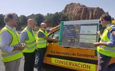 La Junta invierte cerca de dos millones en la mejora de la seguridad vial de la A-92 en Guadix