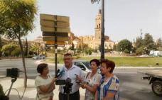 El PP denuncia la falta de mantenimiento de la rotonda de plaza de las Américas