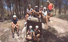 Jóvenes accitanos de entre 14 y 30 años viven un verano de aventura