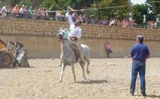 La tradicional Carrera de Cintas de Caballos cierra la Feria de Guadix