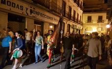 Guadix despide al Cascamorras deseándole suerte en su carrera de hoy en Baza
