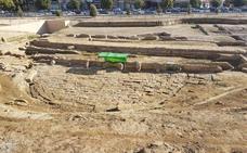Diputación respalda actuaciones de conservación en el Teatro Romano