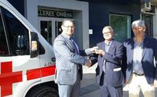 La Asamblea Comarca de Cruz Roja Española en Guadix presenta una nueva ambulancia de Soporte Vital Básico