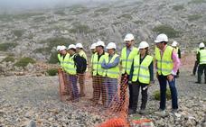La Junta inicia los trabajos de restauración de las antiguas zonas mineras en el Parque Natural Sierra de Baza