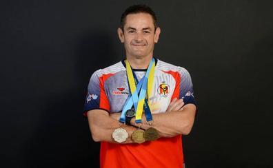 Oro, plata y bronce para Miguel Ángel Peinado en los Europeos de Policías y Bomberos