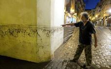 Una tromba de agua anega más de una decena de viviendas en Guadix