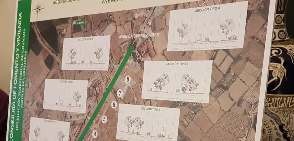 El Ayuntamiento habilita un punto informativo sobre el proyecto de la Avenida Buenos Aires