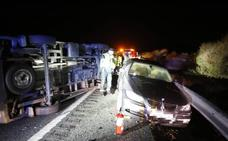 Un fallecido en un accidente entre un turismo y una ambulancia en la A-92 en Diezma