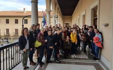 El CPR 'Marquesado' de Alquife visita el Ayuntamiento de Guadix