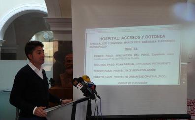 El Consejo Consultivo da el visto bueno para la construcción de la rotonda de acceso al Hospital