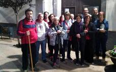 La Parroquia de Darro peregrina a Fray Leopoldo, en Granada,…a pie