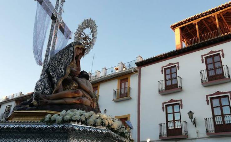 Comienzan los cultos a la patrona con el tradicional rosario de la aurora