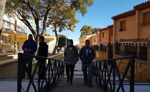 Mejoran la accesibilidad de la calle Montilla