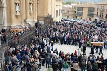 Funeral en la Catedral de Guadix por las víctimas el accidente de la pirotecnia