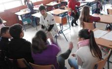 Escolares de Guadix participan en un taller de nutrición y antropometría