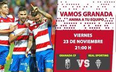 Celebra el Black Friday apoyando al Granada CF