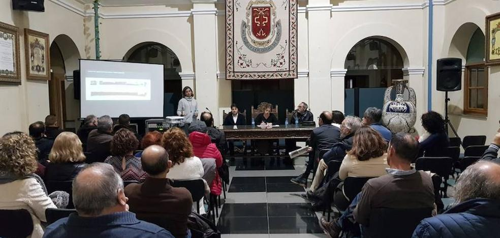 Constituida la mesa de contratación para la restauración del recinto inferior de la Alcazaba de Guadix