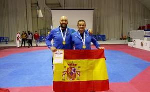 FMiguel Ángel Peinado y David Salamanca se proclaman campeones de Europa de Taekwondo