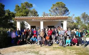 El Club Alpino Universitario recorre el Monte Pajarillo y Vereda de Trancamulas en Bácor-Olivar