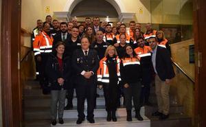 Protección Civil Guadix celebra su gala anual del Día del Voluntariado