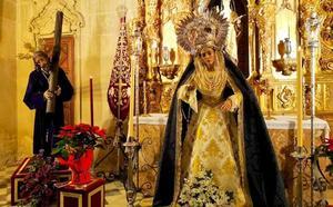 Todas las imágenes marianas de Guadix estarán hoy en besamanos