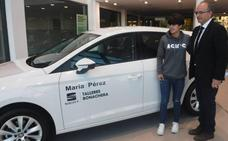 Talleres Bonachera patrocina a la marchadora María Pérez